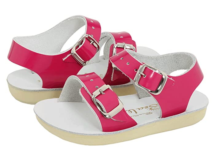 Salt Water Sandal by Hoy Shoes  Sun-San - Sea Wees (Infant/Toddler) (Shiny Fuchsia) Girls Shoes