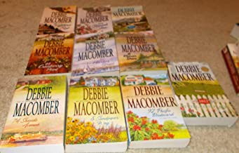 Debbie Macomber Set of 10 Address Novels (92 Pacific Boulevard, 1022 Evergreen Place, 16 Lighthouse Road, 204 Rosewood Lan...