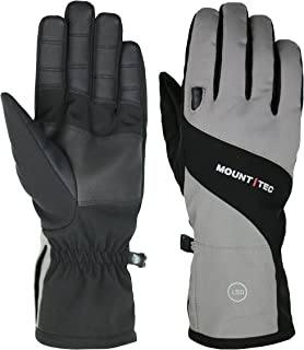 MOUNT TEC Mens Waterproof Sport Utility Gloves with built in LED light