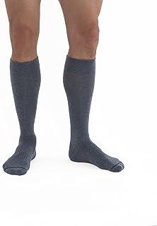 JOBST Activewear 30-40 mmHg Knee High Compression Socks, X-Large Full Calf, Denim Blue