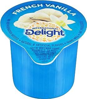 International Delight Creamer Singles French Vanilla - Single Serve Non Dairy Delicious Flavored Coffee Creamers For Home ...