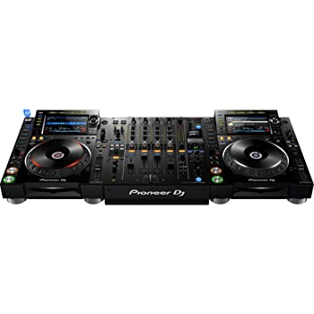 Pioneer CDJ-2000NXS2 Pro-DJ Multi-Player - Black Bundle with DJM-900NXS2 Mixer and Zorro Sounds Media Player Polishing Cloth