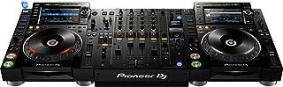 Pioneer CDJ-2000NXS2 Pro-DJ Multi-Player - Black Bundle with DJM-900NXS2 Mixer and Zorro Sounds Media Player Polishing Cloth