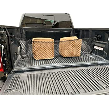 TrunkNets Inc Truck Bed Envelope Style Trunk Mesh Cargo Net for Toyota Tacoma 2005-2020 New
