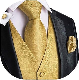 Amazon.es: chaleco y corbata boda: Ropa