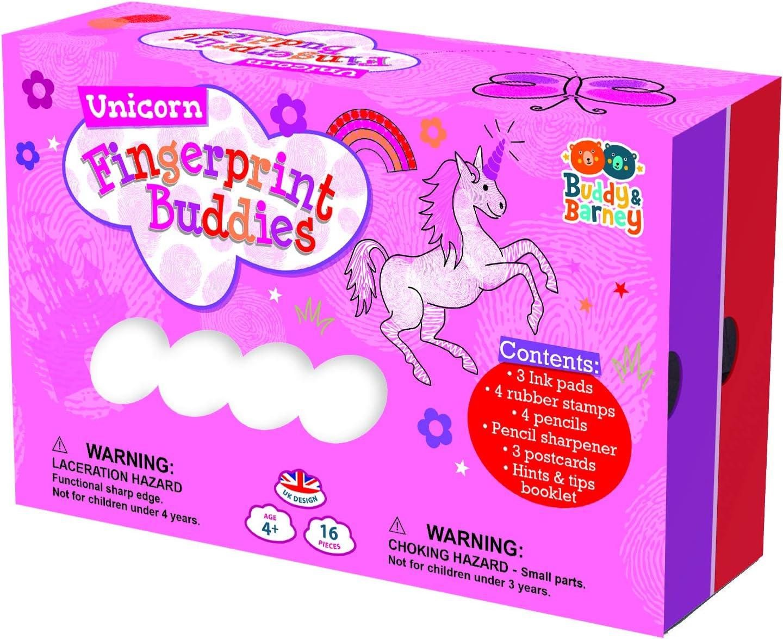Max 55% OFF Fingerprint Buddies-Unicorns New mail order 2 Box Drawer