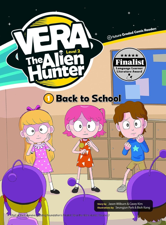 e-future 英語教材 Vera the Alien Hunter Level 2-1 Back to School CD付