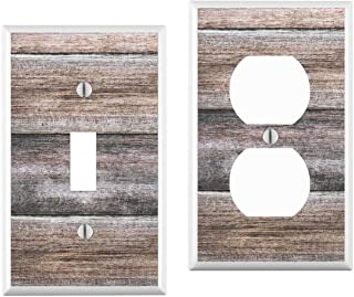 Wood Grain Light Switch Cover : your custom choice of switch plate/outlet covers