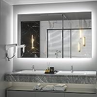 Keonjinn 40 x 24 Inch LED Bathroom Mirror w/Lights Deals