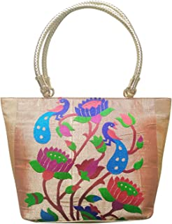 Pure Silk Purses/Hand Crafted Purses/Purses/Hand Bags/Clutches/Gift Items - 5