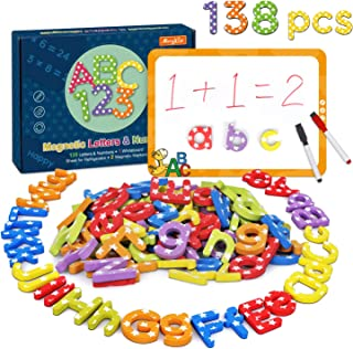 Elc Magnetic Alphabhet Letters Upper Case Fro Creative Kids Education 68 Pieces