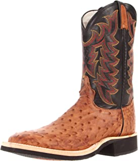 Tony Lama Boots Men's Full Quill Ostrich 8987 Boot