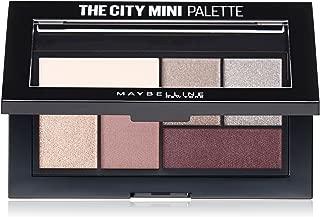Maybelline New York Makeup The City Mini Eyeshadow Palette, Chill Brunch Neutrals Eyeshadow, 0.14 oz