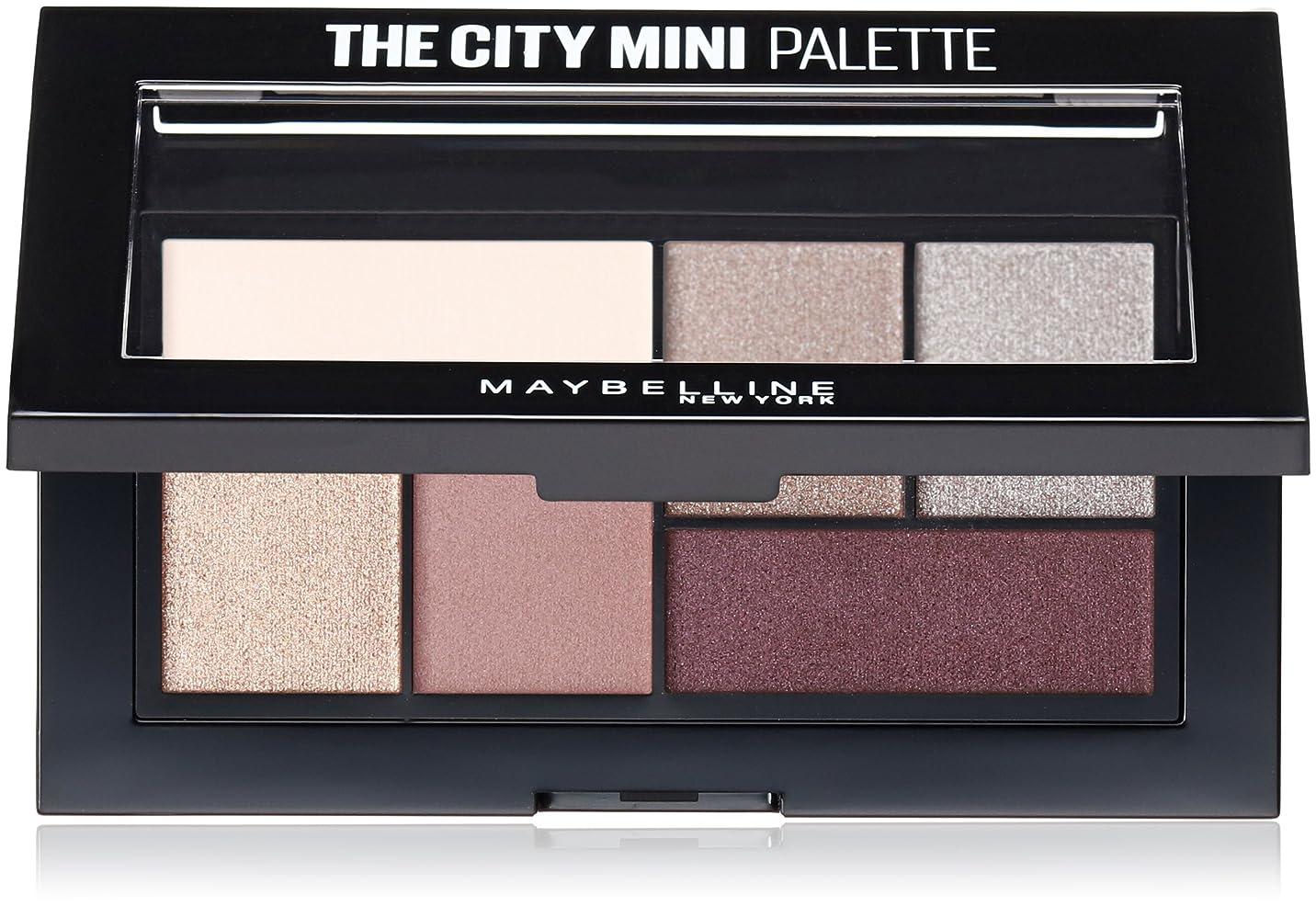 十一ガイダンス乱れMAYBELLINE The City Mini Palette - Chill Brunch Neutrals (並行輸入品)