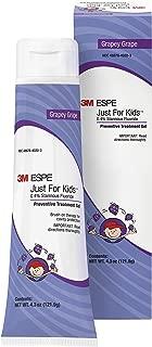 3M ESPE 12107G Just for Kids 0.4% Stannous Fluoride Brush On Gel Refill, Grape Flavor, 4.3 oz. Bottle