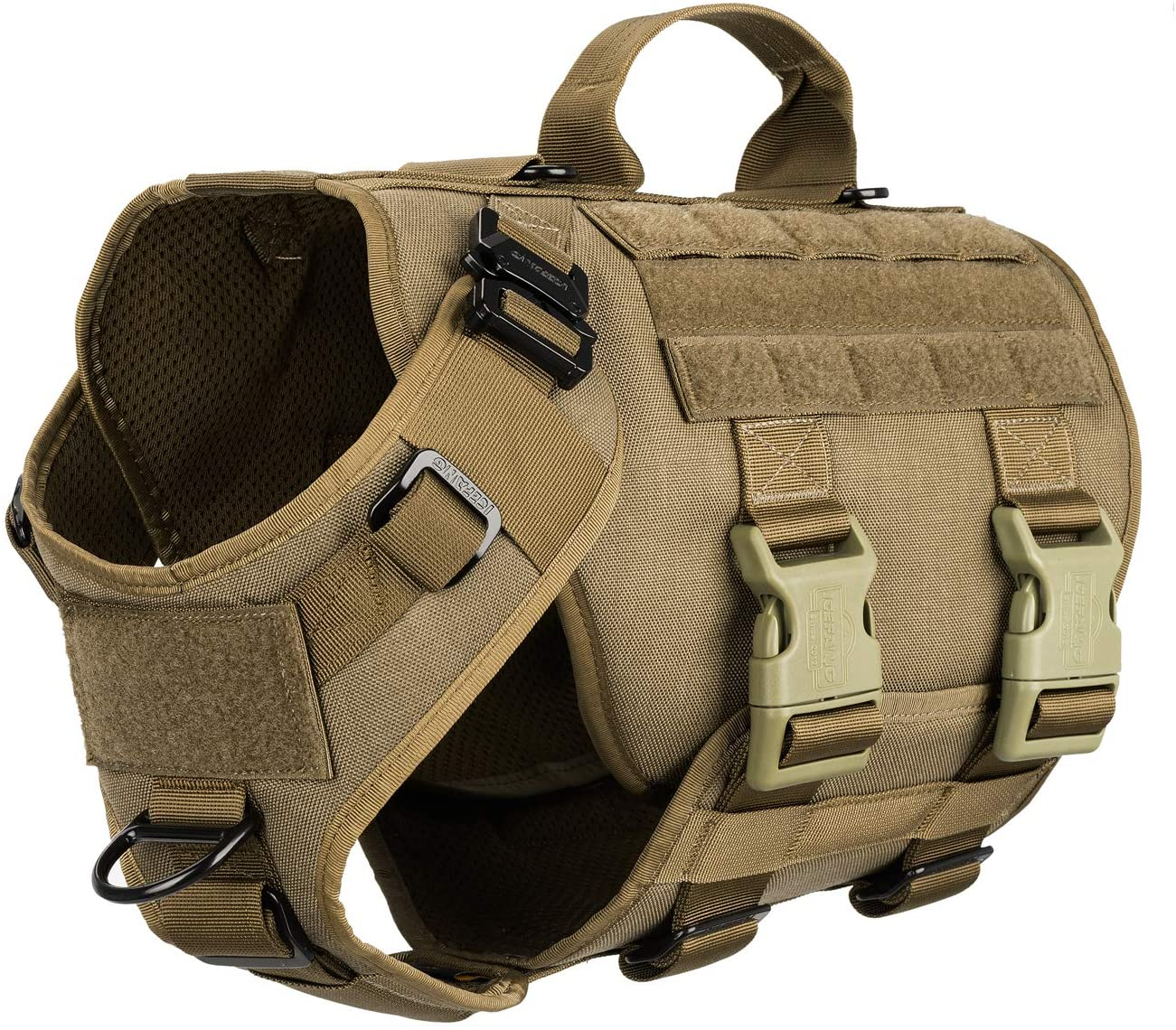 ICEFANG Tactical Dog Operation Harness Molle Buckle 40% OFF Cheap Sale Max 72% OFF with 6X