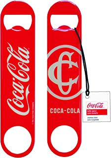 Tablecraft CC383 Coca-Cola Classic Logo Flat Bottle Opener, Red