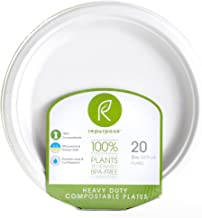 Repurpose, Plates Compostable 9 Inch, 20 Count