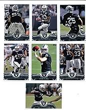 2013 Topps NFL Football Team Set (Storage Box) - Oakland Raiders 7 Cards Darren McFadden D.J. Hayden Lamarr Houston Oakland Raiders Denarius Moore Tyler Wilson Marcel Reece