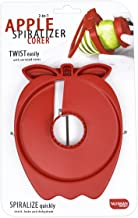 Talisman Designs 3130 Apple Spiralizer and Corer, Red