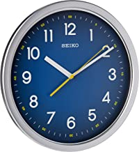 QXA727SLS SEIKO Quiet Sweep hand blue Office Clock Diameter 31.1 cm