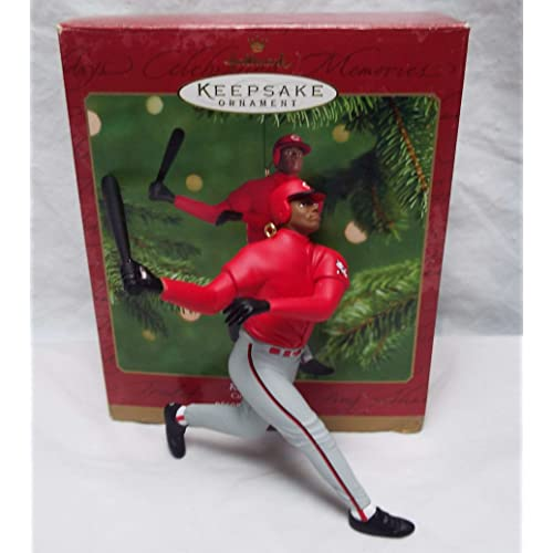 Cincinnati Reds Resin Lil Player Ornament