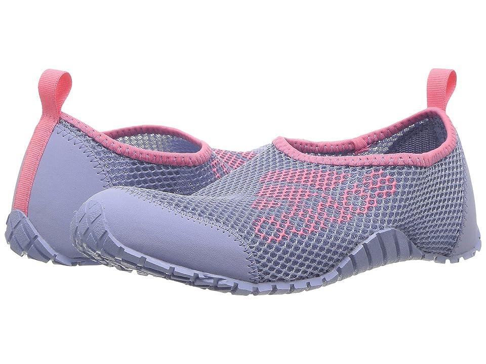 Image of adidas Outdoor Kids Kurobe (Toddler/Little Kid/Big Kid) (Chalk Blue/Chalk Blue/Chalk Pink) Girls Shoes