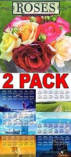 Roses 2015 16 Month Wall Calendar + Free Bonus 2015 Magnetic Calendar