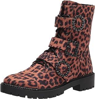 Jessica Simpson Women's Kirlah Combat Boot, Natural 6