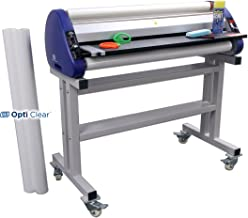 USI Wide Format Thermal Roll Laminator Kit, ARL 4000, Laminates Films up to 40 Inches Wide and 5 Mil Thick, 1 Inch Core, Includes Laminator, Stand, Film and More, Industry Best 2-Year Warranty