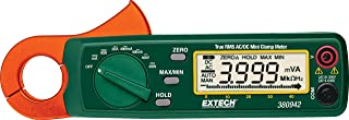 Extech 380942 True RMS 30 Amp AC/DC Mini Clamp Meter