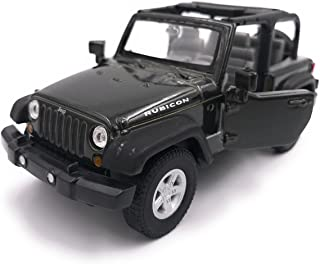 NEW MAISTO MI31662BK Jeep Wrangler Sahara 2007 Black 1:18 MODELLINO Die Cast Model