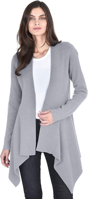 State Fusio Women's Wool Cashmere Wide Lapel Cardigan