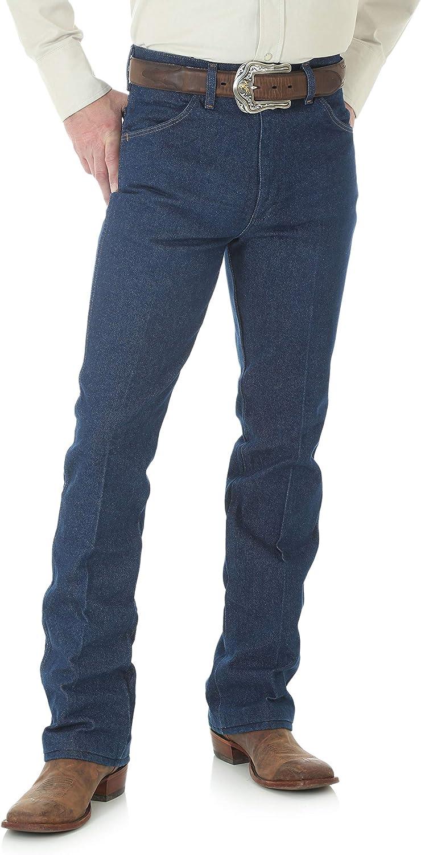 Wrangler Men's Western Boot Cut Slim Fit Jean