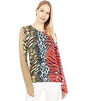 Hybrid Leopard Sweater