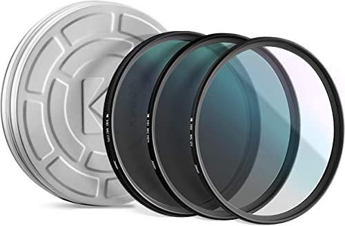 popular KODAK 46mm Filter Set Pack of 3 popular Premium UV, CPL & ND4 Filters for Various Photo-Enhancing Effects, Absorb Atmospheric Haze, Reduce Glare & Prevent Overexposure, Slim, Multi-Coated Glass 2021 & Mini Guide outlet sale