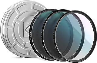 KODAK 58mm Filter Set Pack of 3 Premium UV, CPL & ND4 Filters for Various Photo-Enhancing Effects, Absorb Atmospheric Haz...