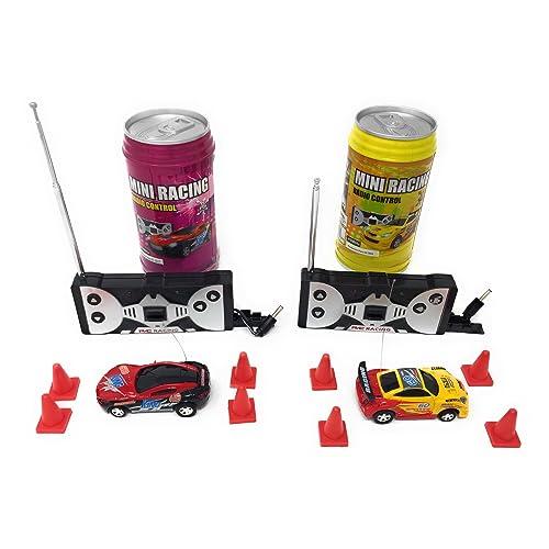 4cfb72d1d0d966 Mini RC Remote Control Car - 2 Pcs Racing Game Set - Smallest Toy Race Cars
