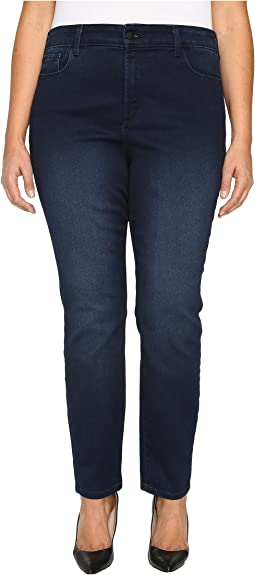 NYDJ Plus Size Plus Size Alina Legging Jeans in Super Sculpting Denim in Norwell Wash