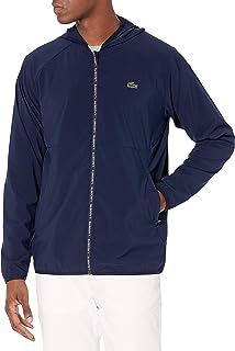 Lacoste Men's Sport Full Zip Hooded Golf Jacket