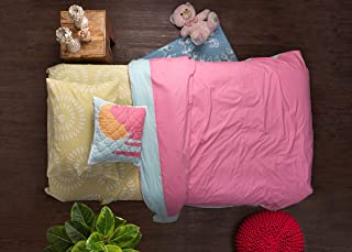 Pink Guppy Girls, Duvet Cover Set for Twin Bed, Size 86