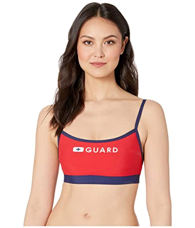 Speedo Guard Thin Strap Top (US Red) Women