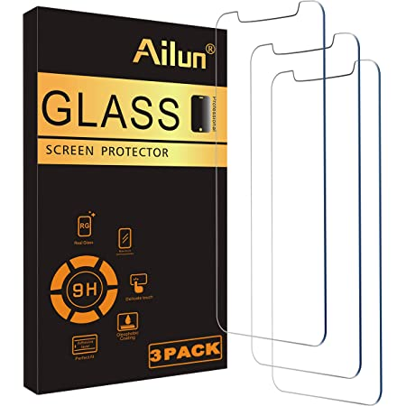 Ailun Glass Screen Protector Compatible for iPhone 12 pro Max 2020 6.7 Inch 3 Pack Case Friendly Tempered Glass