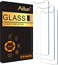Ailun Glass Screen Protector Compatible for iPhone 12 pro Max 2020 6.7 Inch 3 Pack Tempered Glass