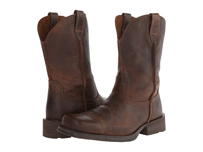 Mens Retro Shoes | Vintage Shoes & Boots Ariat Ariat Rambler Wicker Cowboy Boots $159.95 AT vintagedancer.com