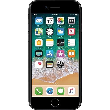 Apple iphone 7 128gb Black Matte Liberado de Fabrica (Renewed)