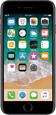 Apple iPhone 7 Celular 128 GB Negro (Renewed)