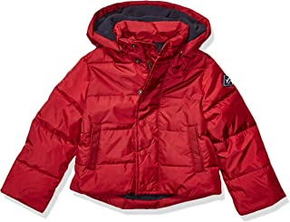 Joules Outerwear Boys 204792 Lodge Warm Up Jacket - red - 4