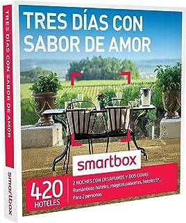 comprar comparacion Smartbox Tres días con Sabor de Amor Caja Regalo, Adultos Unisex
