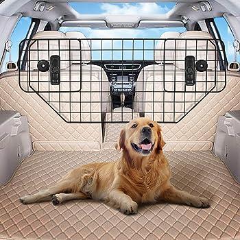 For HYUNDAI SANTA FE Dog Guard Adjustable Safety Travel Dog Pet Headrest Car